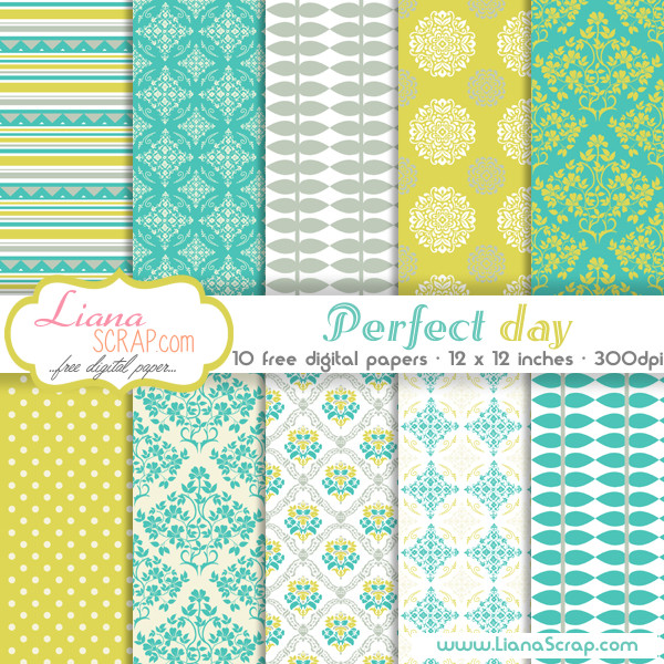 Free Digital Paper Packs For