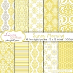 Free digital paper pack – Sunny Morning Set